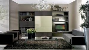 Decoración de Interior, Blanco, Negro y Beige