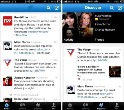 Twitter apple itunes app