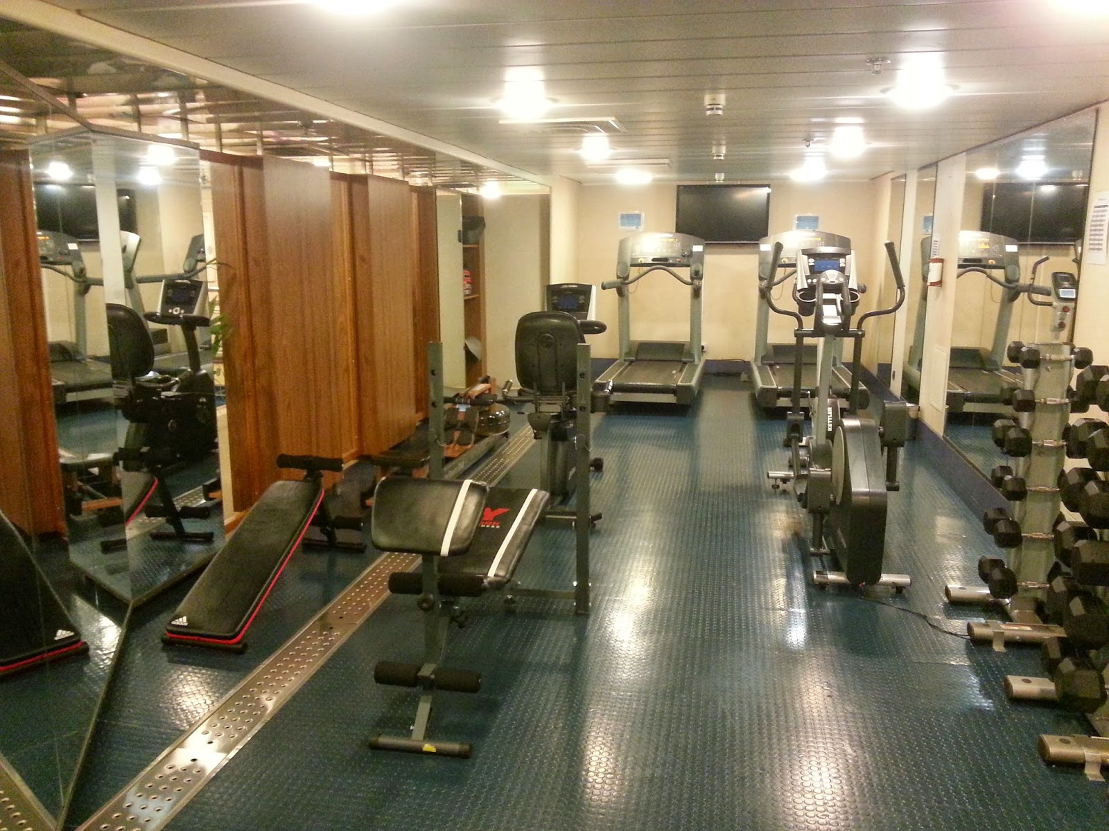 Cruise Ship Saga Pearl II - Gym and Fitness Centre