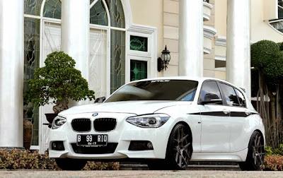 Modification BMW 116i F20 2011
