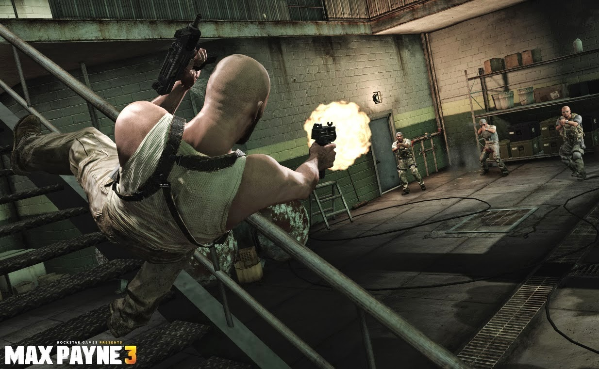 MAX PAYNE 3 AFTER FALL