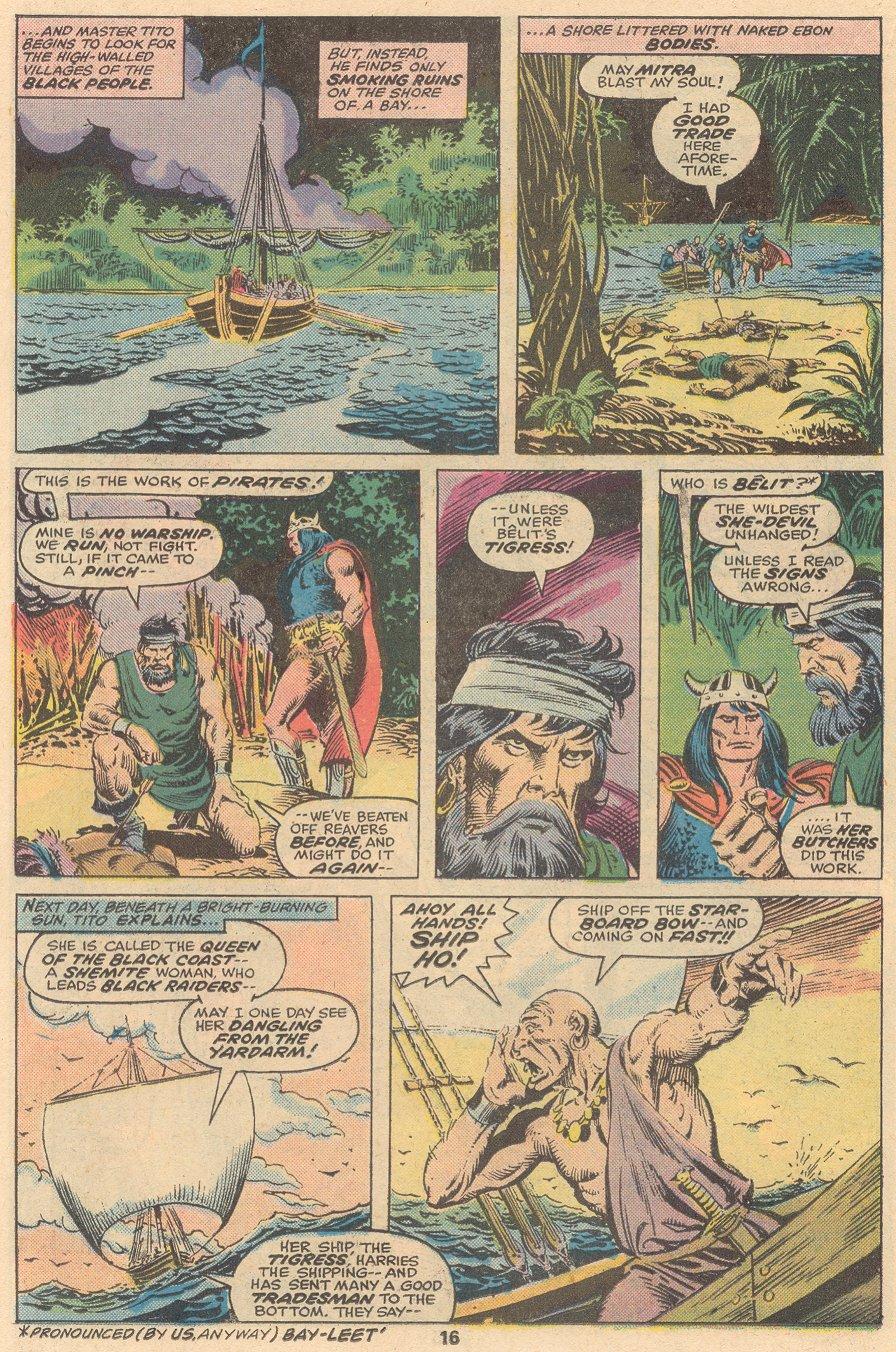 Conan the Barbarian (1970) Issue #58 #70 - English 11