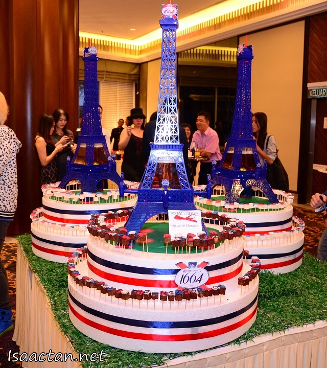 The rather interesting Kronenbourg 1664 cake