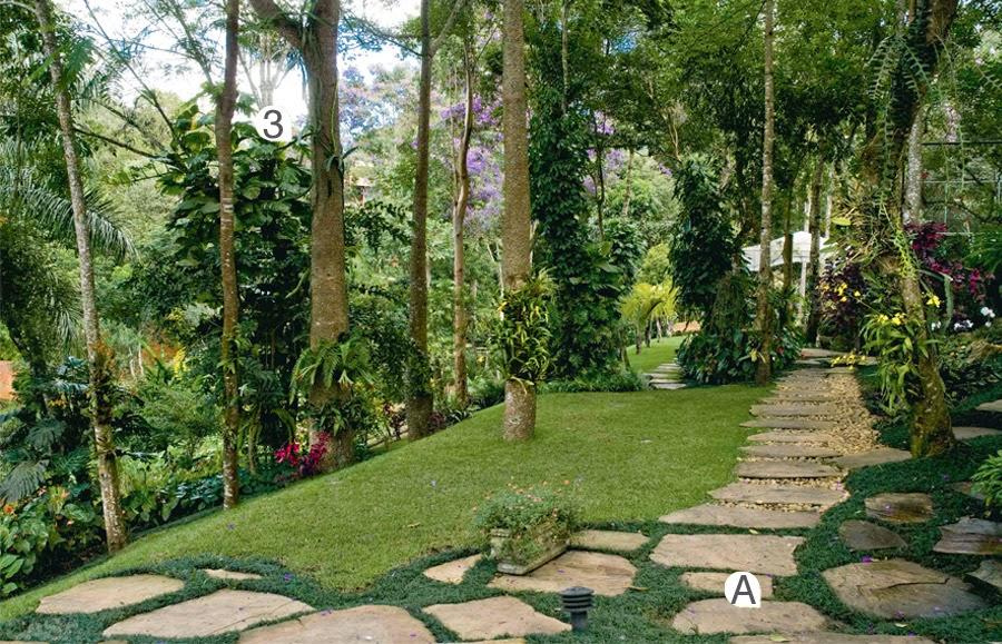 Jardim de Stefania: * Pavimenta??o r?stica para jardim