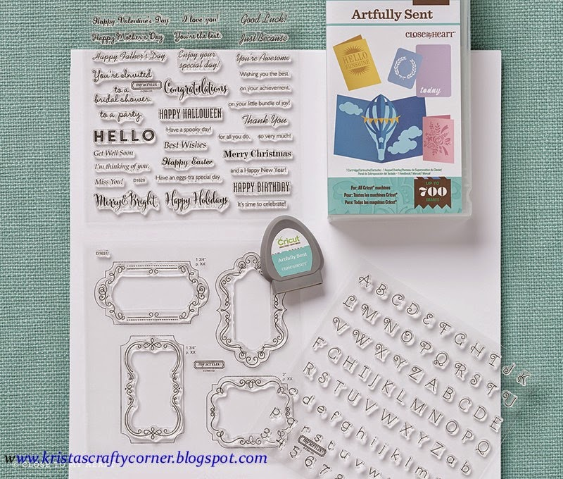 "We now have 4 Cricut Cartridge Bundles!!  Check out our newest ""ARTFULLY SENT"" Cricut cartridge! :"