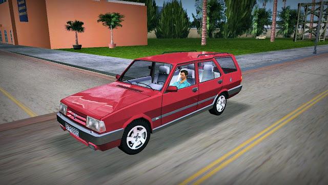 Fiat 131 Wagon GTA Vice City