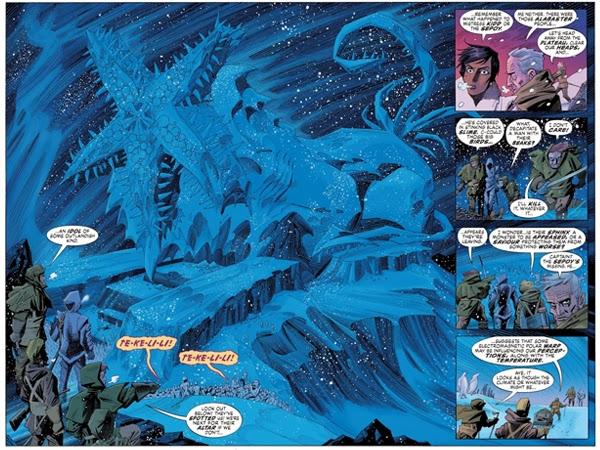 """Las montañas de la Locura en """"Nemo: Corazón de Hielo"""", de Alan Moore y Kevin O´Neil"""