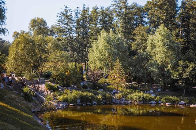 место для красивых фото в парке Феофания