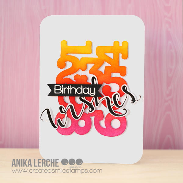 Birthday Wishes. Hi Everybody, Anni Here! Today I Have A Bright, Bold Card  For You!