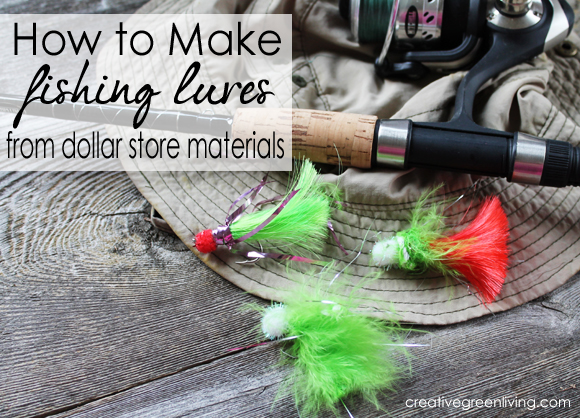 father's day gift idea} how to make fishing lures - creative green, Hard Baits