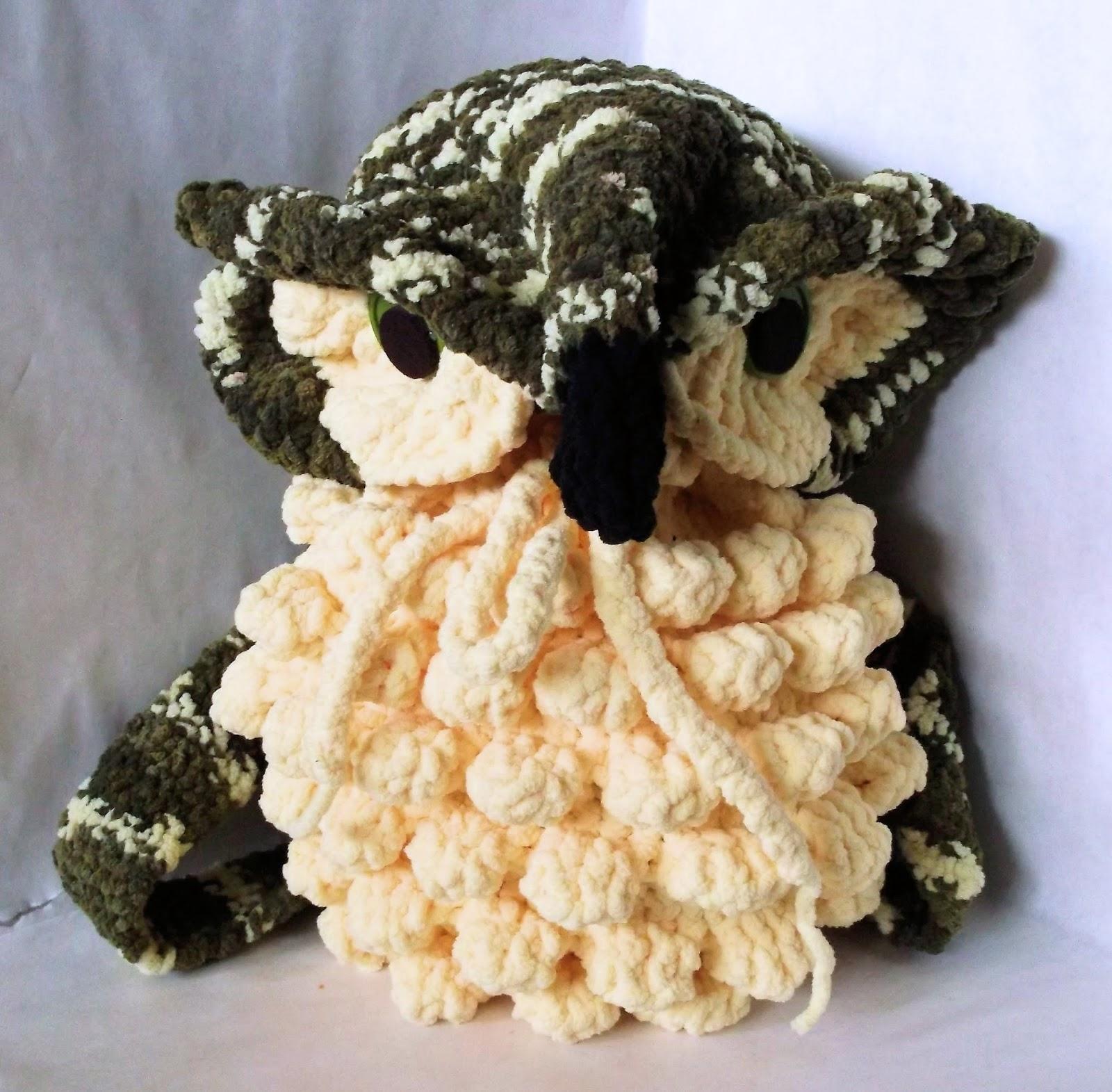 The Loom Muse Loom Knit Owl Bag