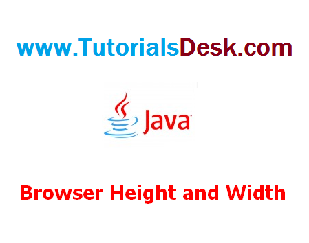 Getting Browser's height and width using Javascript