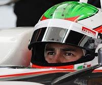 El piloto Checo Pérez se recupera en Mazamitla
