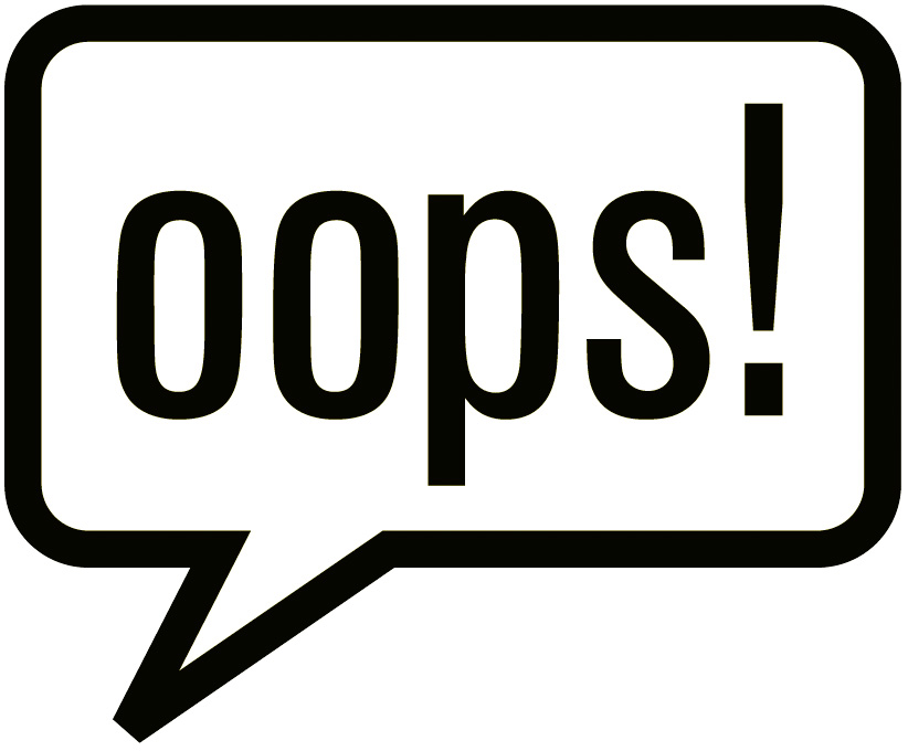 Ravings of a Semi-Mad Woman: Saying OOPS