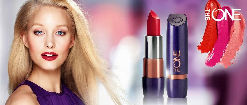 Tampil mempesona dengan lipstick The one dari oriflame