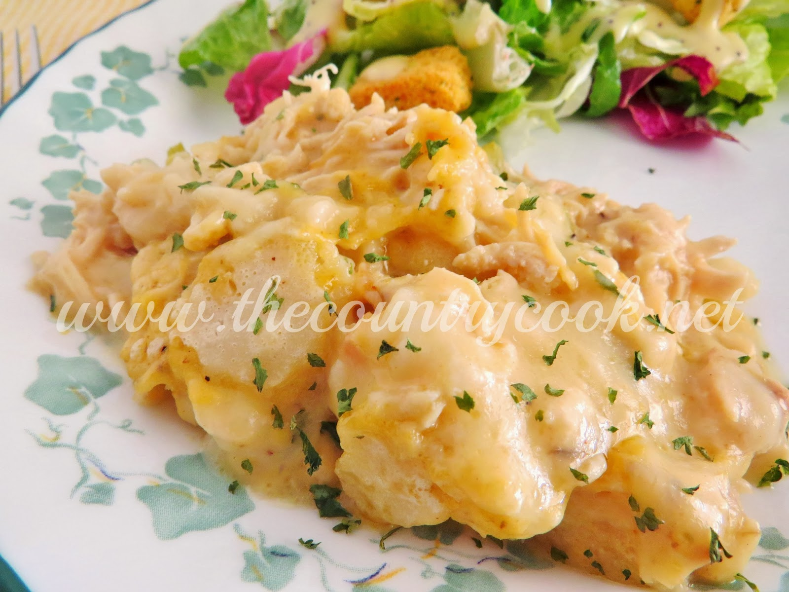 The Country Cook: Chicken & Dumplings Casserole