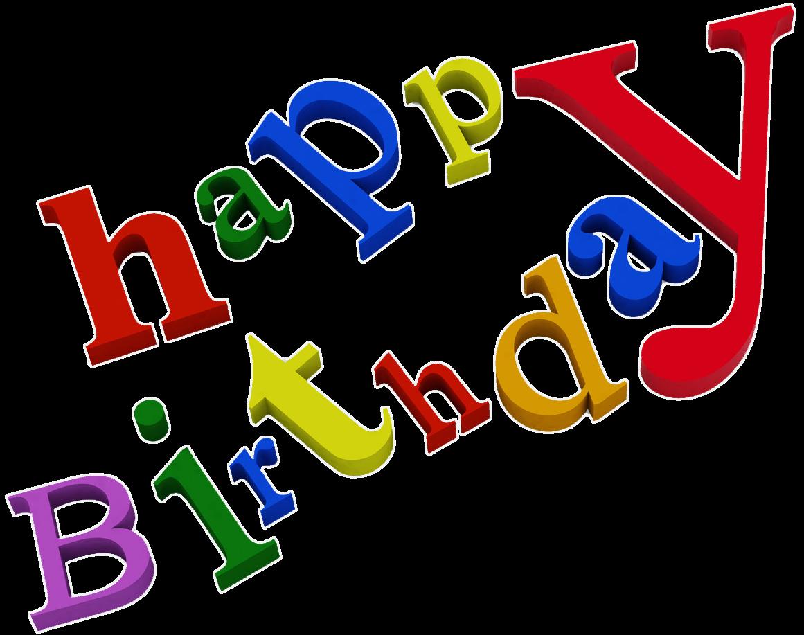 Word Happy Birthday