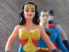 wonder woman y superman
