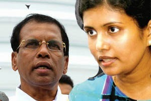 Gossip-Lanka-Sinhala-News-My-father-comes-from-the-salvage-country-Maithri's-daughter-Chathurika-www.gossipsinhalanews.com