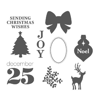 Stampin' Up! Joyous Celebrations Stamp Brush Set Digital Download
