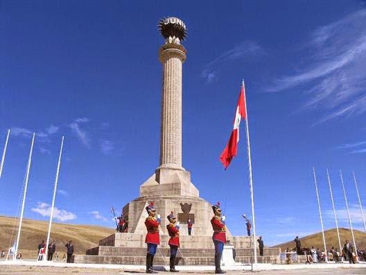 Resultado de imagen para obelisco de junin