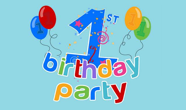 1st Birthday Party Planning Checklist