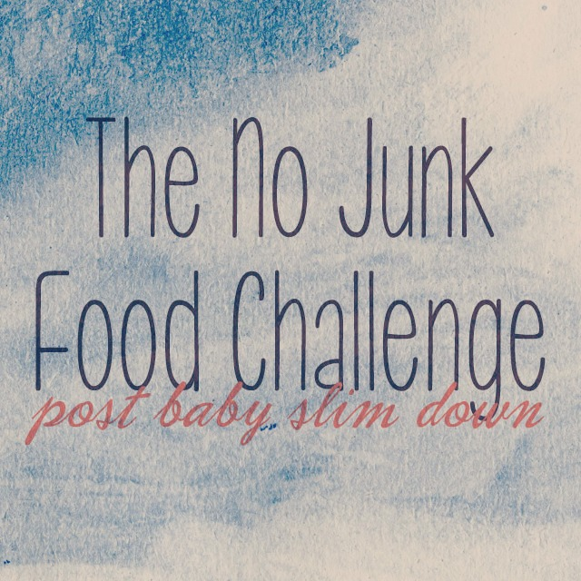 The no Junk Food Challenge