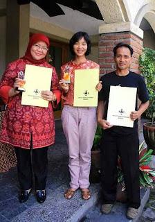 FTSP Teknik Geodesi ITENAS Meraih Award 2013
