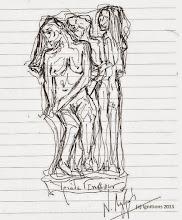Τριάδα Γενοκτονιών. (Dessin) - Ν. Λυγερός