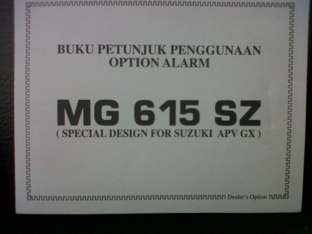 Danee120 Report Ganti Kabel Body Set Aerio Karena Konsleting Suzuki Apv Fuse Box Diy