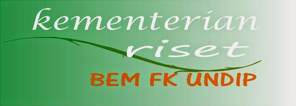 KEMENTRIAN RISET BEM FK 2013