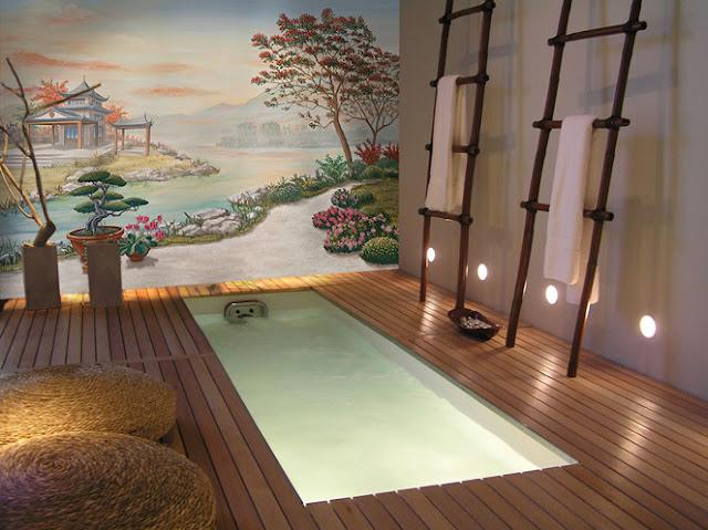 déco zen asiatique pour salle de bain