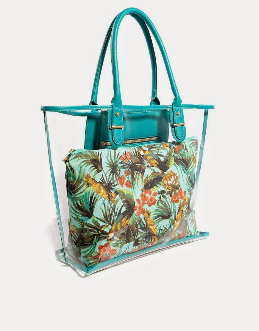 Authentic New look tropical tote bag (Pre-order) SALE!!