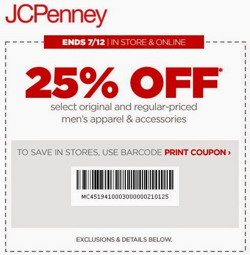 Jcpenney printable coupon 20 off