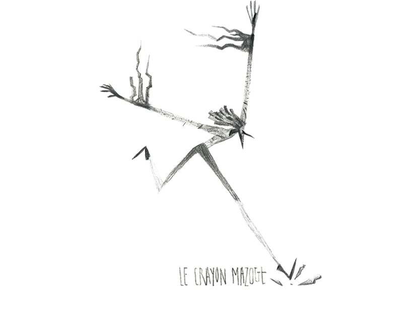 Le Crayon Mazout