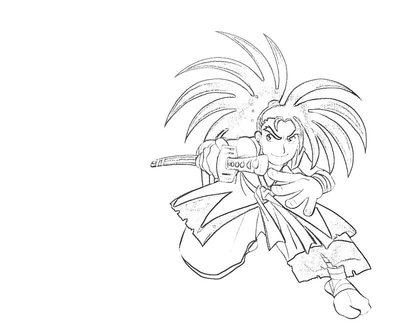 printable-haohmaru-chibi-coloring-pages