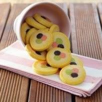 Resep Polkadot Frozen Cookies