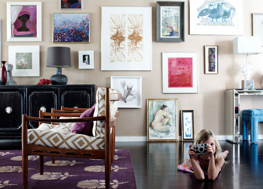 Make your walls beautiful! Inspiring ways to hang art. ~ Furniture Gallery .