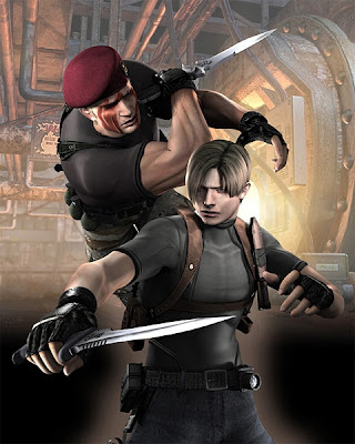 resident evil 4 wii leon fotos