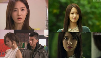 Yuri fashion king, yoona love rain