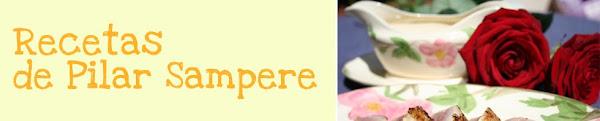 Recetas de Pilar Sampere