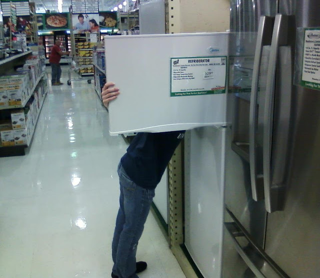 241543903 fan pic-Head in Freezer in Market