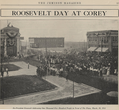 Roosevelt Day at Corey 1911