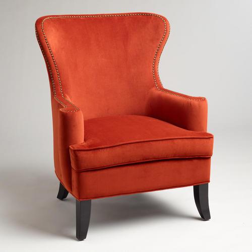 World Market, Nutmeg Elliott Wingback Chair - sale $279.99