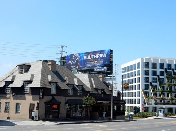 Southpaw billboard