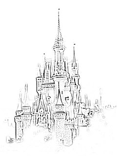 Cinderella Castle Sketch