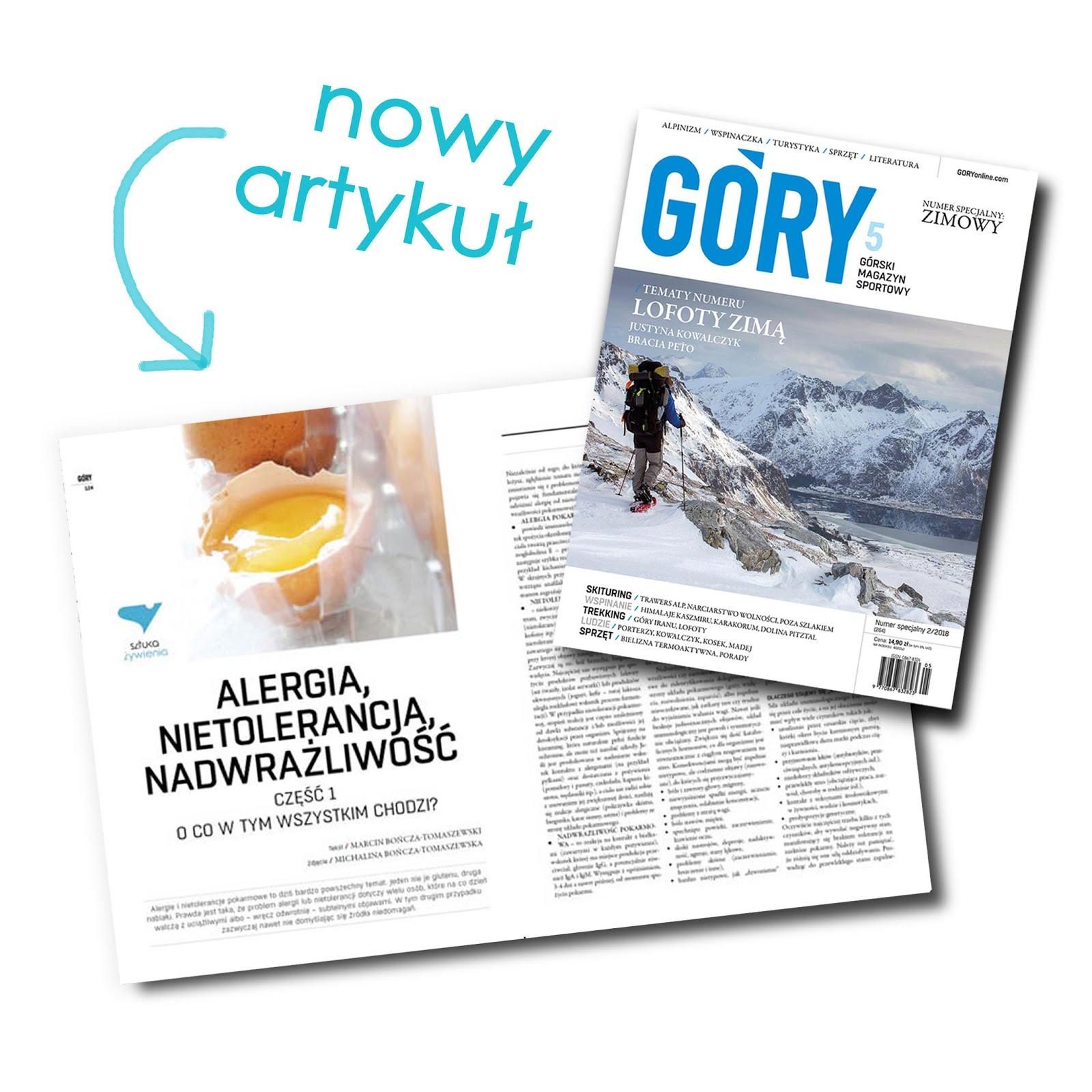"""NOWA PUBLIKACJA W MAGAZYNIE """"GÓRY"""""""