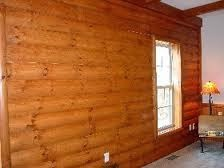 Interior log siding for Interior log cabin look siding