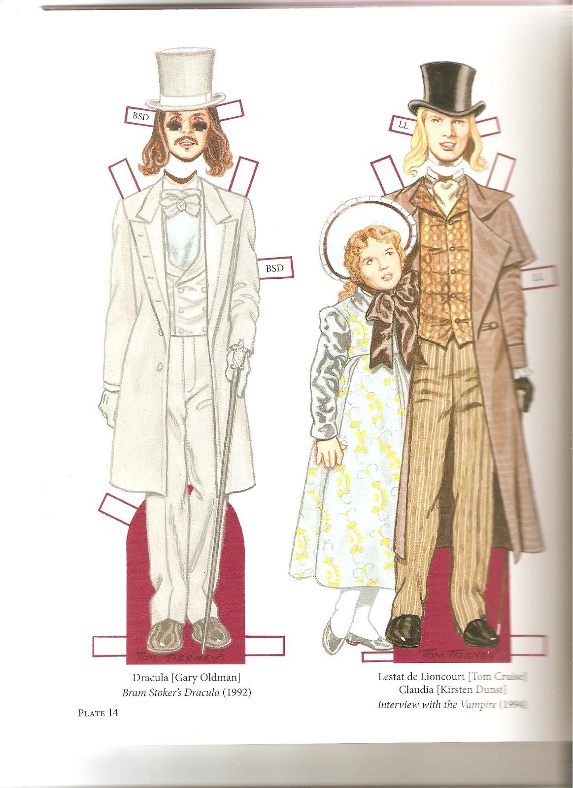 Miss Missy Paper Dolls: Vampire Paper Dolls