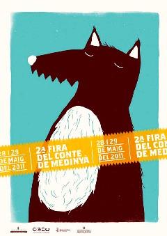llop amagat a Medinyà